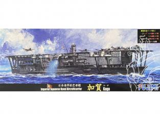 Fujimi maquette bateau 431840 Kaga Porte-avions de la Marine Japonaise Impériale 1/700