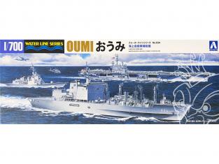 Aoshima maquette bateau 51887 Oumi J.M.S.D.F. AOE-426 Water Line Series 1/700