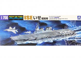 Aoshima maquette bateau 41628 ISE Force maritime d'autodéfense japonaise Water Line Series 1/700