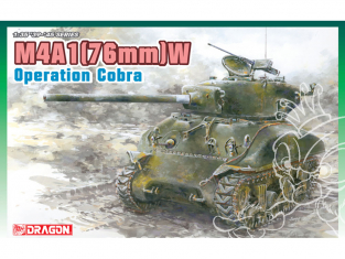 """Dragon maquette militaire 6083 M4A1(76)W """"Operation Cobra"""" 1/35"""
