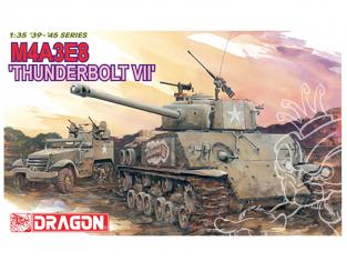 """Dragon maquette militaire 6183 M4A3E8 """"Thunderbolt VII"""" 1/35"""