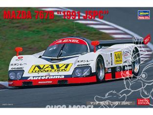 Hasegawa maquette voiture 20421 Mazda 767B 1991 JSPC 1/24