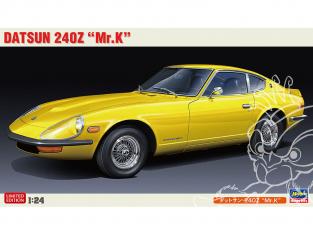 Hasegawa maquette voiture 20419 Datsun 240Z Mr.K 1/24
