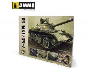 MIG Librairie 6032 T-54 / Type 59 guide visuel en Anglais