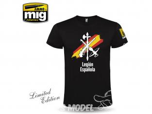 MIG T-Shirt 8054S T-shirt Legion Espanola Retro taille S