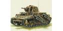 trumpeter maquette militaire 00352 panzer 1/35