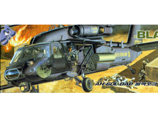 Academy maquettes avion 12115 AH-60L Dap black Hawk 1/35