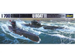 HASEGAWA maquette sous marins 901 Sous-marin allemand U-boot 7C et 9C 1/700