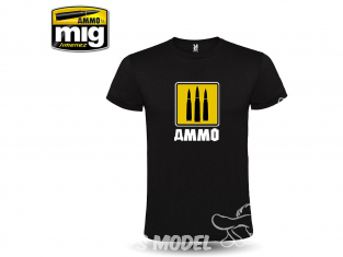 MIG T-Shirt 8055XXXL T-shirt Ammo 3 Balles - 3 Fondateurs taille XXXL