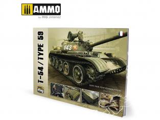 MIG Librairie 6034 T-54 / Type 59 guide visuel en Français