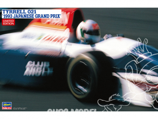 "Hasegawa maquette voiture 20393 Tyrrell 021 ""Grand Prix du Japon 1993 1/24"