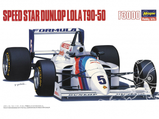 Hasegawa maquette voiture 20394 Speed star Dunlop Lola T90-50 F3000 1/24