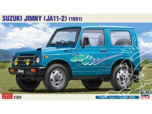 Hasegawa maquette voiture 20387 Suzuki Jimny type JA11-2 1/24