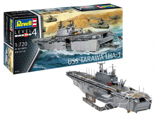 revell maquette bateau 05170 Assault Ship USS Tarawa LHA-1 1/720