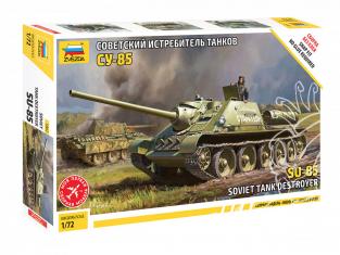 Zvezda maquette militaire 5062 Chasseur de chars Sovietique SU-85 1/72