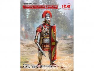 Icm maquette figurine 16302 Centurion romain (I siècle) (100% nouveaux moules) 1/16