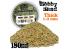 Green Stuff 366774 Sable Grossier pour Modélisme 180ml Naturel