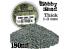 Green Stuff 505139 Sable Grossier pour Modélisme 180ml Gris