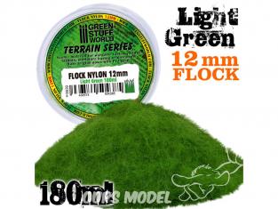 Green Stuff 504385 Herbe Statique 12mm Vert Clair 180ml