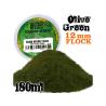 Green Stuff 504422 Herbe Statique 12mm Vert Olive 180ml