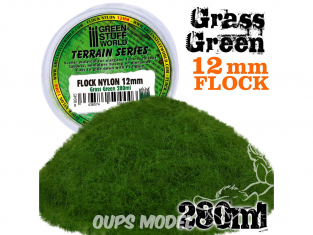 Green Stuff 504446 Herbe Statique 12mm Vert Herbe 280ml