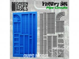 Green Stuff 504644 MOULES en Silicone Circuit de Tuyaux