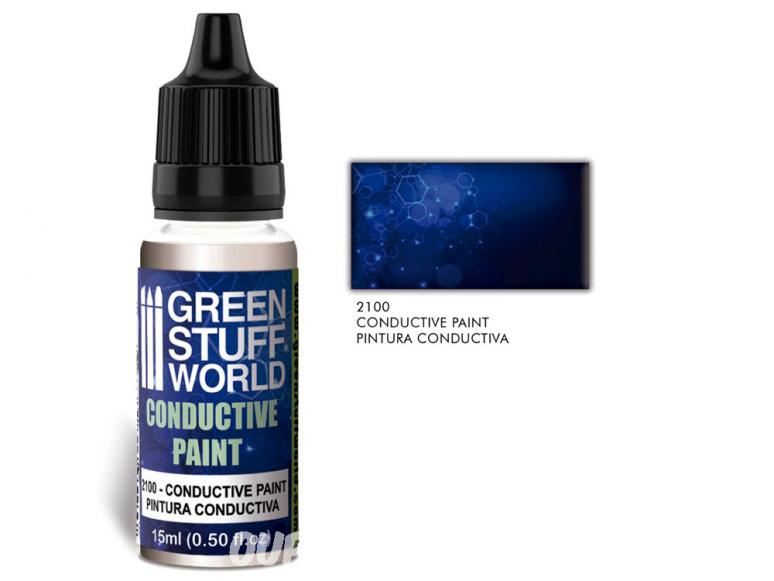 Green Stuff 2100 Peinture Conductrice