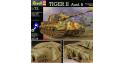 revell maquette militaire 3129 tigre II 1/72