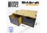 Green Stuff 505283 Ensemble modulaire 2x tiroirs MDF