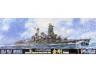 Fujimi maquette bateau 431864 Kongo 1944 Navire de la Marine Japonaise Impériale 1/700