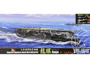 Fujimi maquette bateau 431802 Ryujyo Porte-avions de la Marine Japonaise Impériale 1/700
