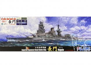 Fujimi maquette bateau 431925 Nagato Navire de la Marine Japonaise Impériale 1/700