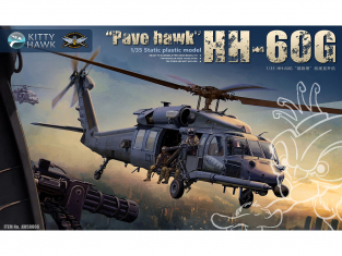 Kitty Hawk maquette hélicoptère kh50006 SIKORSKY HH-60G Pave Hawk 1/35