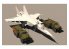 "Kitty Hawk maquette avion KH80136 MIG-25PU ""FOXBAT C"" 1990 1/32"
