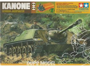 TAMIYA maquette militaire 30902 Collector Jagdpanzer Allemand canon automoteur motorisé et télécommande 1/48