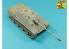 Aber 35L305 Fut de Canon de 8,8 cm en une partie Pak 43/3 L / 71 pour Jagdpanther Ausf G1 early (Takom) 1/35