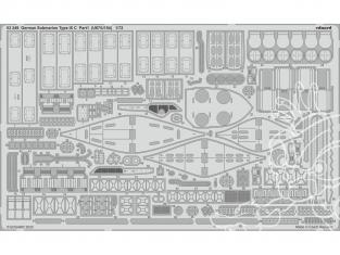 Eduard photodecoupe bateau 53249 Sous-marin Allemand Type IX C partie 1 (U67/U154) Revell 1/72