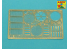 Aber 35K04T Set super detaillage Panther G Takom 1/35