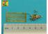 Aber 16108 Écrous à une aile pour véhicules allemands Écrous PE avec boulon tourné x 26 pcs. 1/16