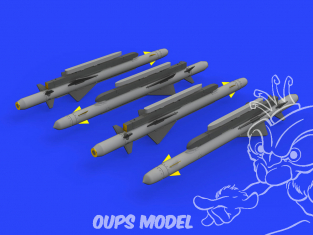 Eduard kit d'amelioration avion brassin 648549 Missiles ALARM 1/48