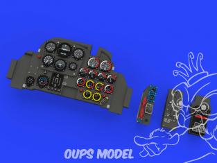 Eduard kit d'amelioration avion Löök 644041 Messerschmitt Me 262A Tamiya 1/48