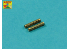 Aber A72001 set de 2 futs de mitrailleuse Allemande pour avions WWI 7,9mm IMG 08/15 Spandau 1/72