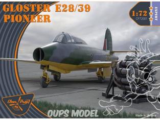 Clear Prop maquette avion CP72001 GLOSTER E28/39 PIONEER 1/72