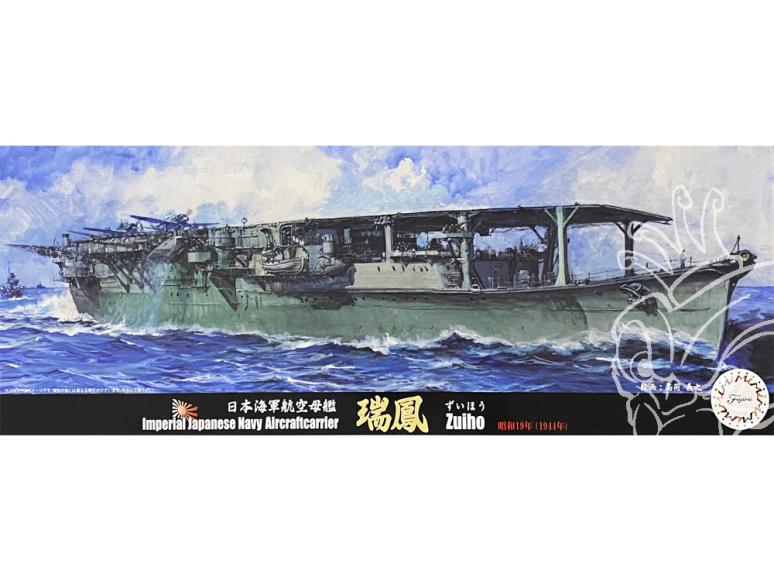 Fujimi maquette bateau 432014 Zuiho 1944 Porte-avions de la Marine Japonaise Impériale 1/700