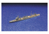 Aoshima maquette bateau 40096 Jintsu 1942 Croiseur léger I.J.N. Water Line Series 1/700