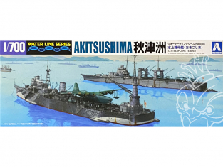 Aoshima maquette bateau 51788 Akitsushima I.J.N. Water Line Series 1/700