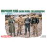 dragon maquette militaire 6088 Groupe de combat Peiper JOACHIM PEIPER et STAFF ADRENNES 1944 1/35