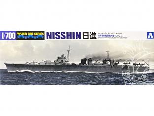 Aoshima maquette bateau 08447 Nisshin I.J.N. Water Line Series 1/700