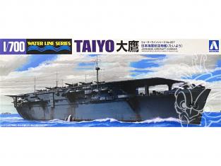 Aoshima maquette bateau 45206 Taiyo Porte-avions I.J.N. Water Line Series 1/700