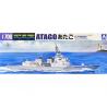 Aoshima maquette bateau 04715 Atago Bateau de défense J.M.S.D.F. Water Line Series 1/700